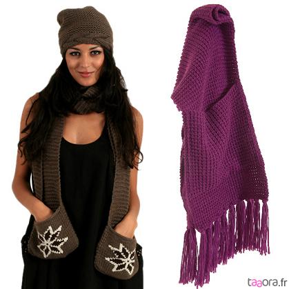 aniline créatrices d'accessoires, tricot, bijoux, fiches tricot