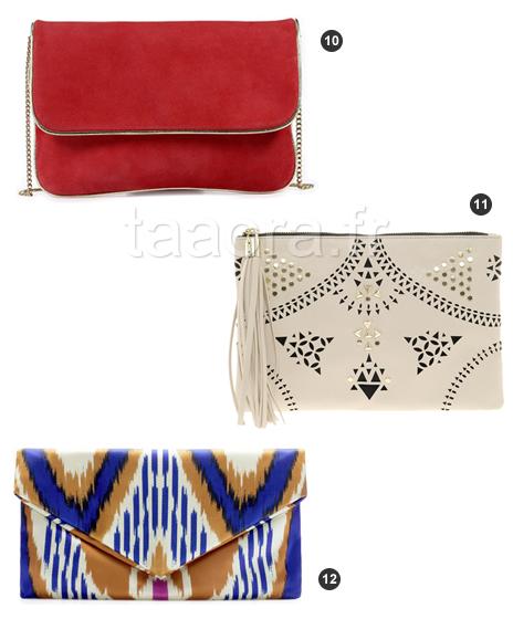 12 pochettes pour l t 2013 taaora blog mode tendances looks. Black Bedroom Furniture Sets. Home Design Ideas