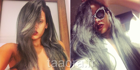rihanna toutes ses coiffures en photos taaora blog mode tendances looks. Black Bedroom Furniture Sets. Home Design Ideas
