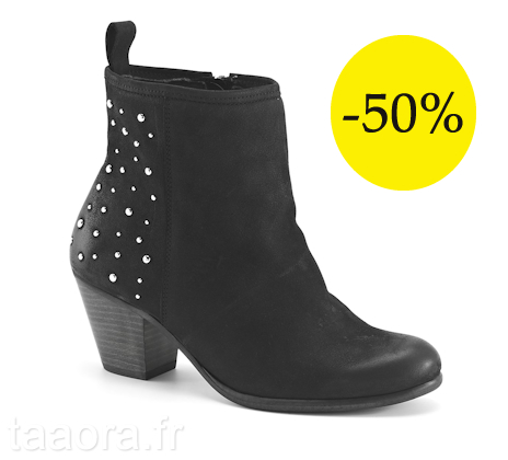 soldes hiver 2013 bottines 50 taaora blog mode. Black Bedroom Furniture Sets. Home Design Ideas