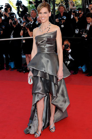 hilary swank dresses. Hilary Swank