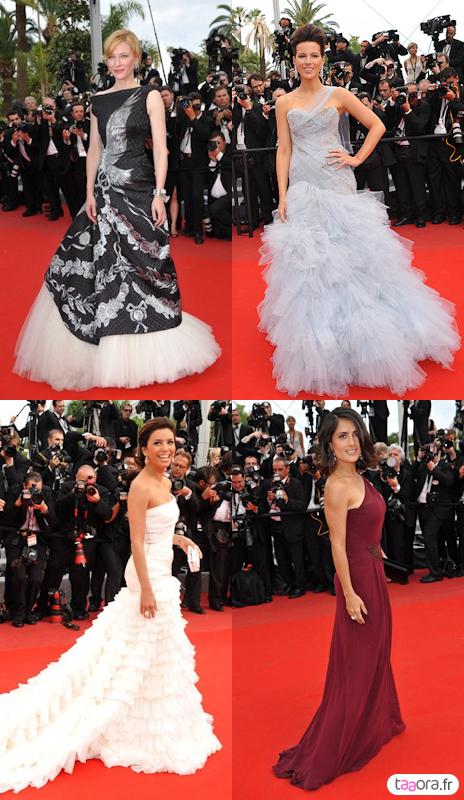 Cannes 2010 première montée des marches