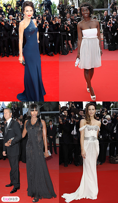 Photos robes Cannes 2010
