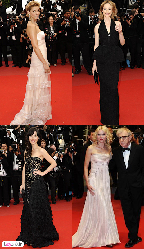 Robes tapis rouge Cannes 2010