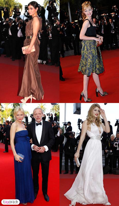 Robes Festival de Cannes 2010