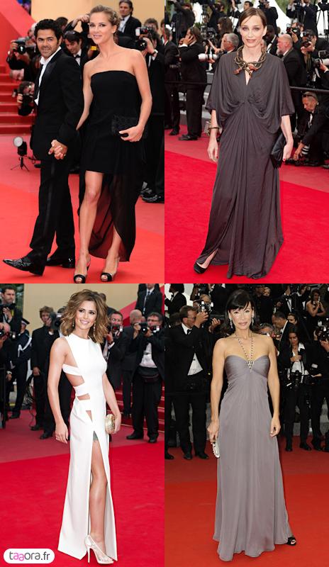 Montée des marches de Cannes
