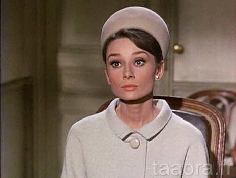Audrey Hepburn en Givenchy dans Charade