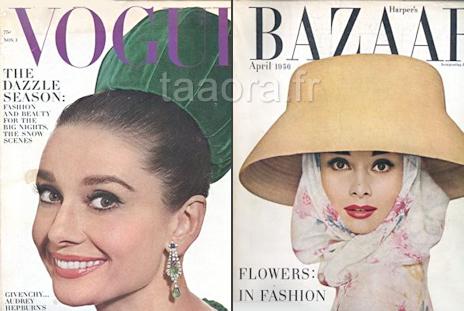 Audrey Hepburn couvertures magazines