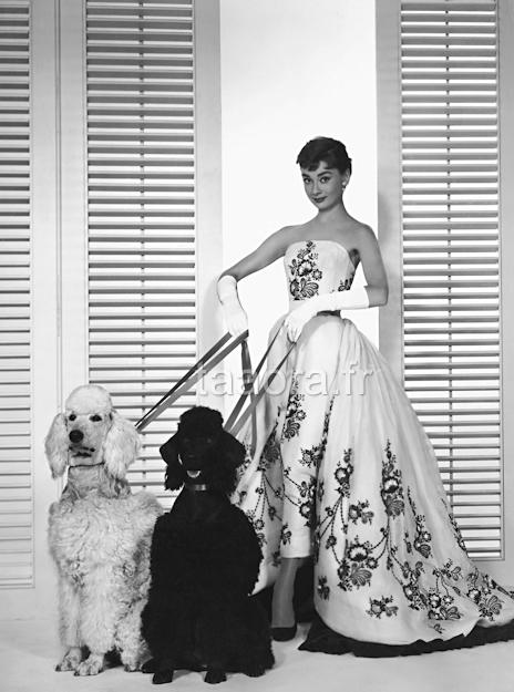 Audrey Hepburn en Givenchy dans Sabrina