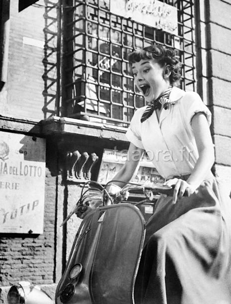 Audrey Hepburn - Film Vacances romaines