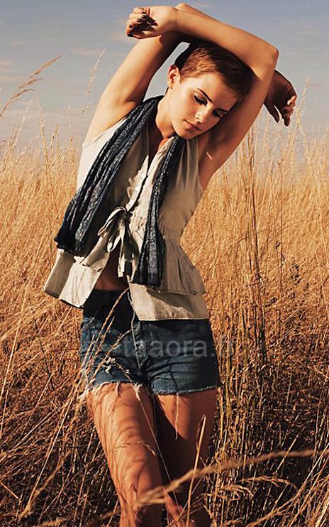 emma watson cheveux courts