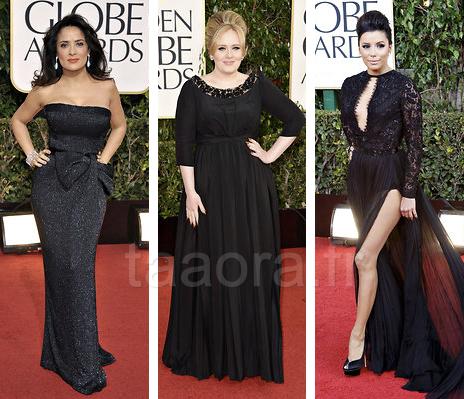 Robes stars Golden Globes