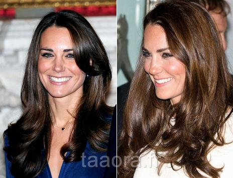Kate middleton ses plus belles coiffures taaora blog for Coupe cheveux kate middleton