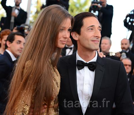 Adrien Brody couple