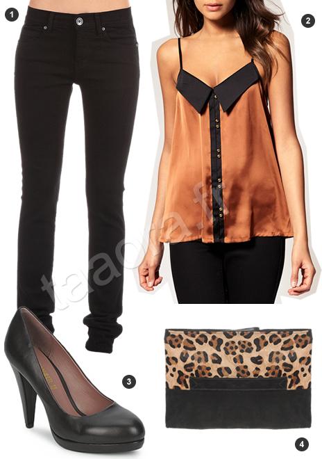 5 looks pour les f tes 2011 taaora blog mode tendances looks. Black Bedroom Furniture Sets. Home Design Ideas