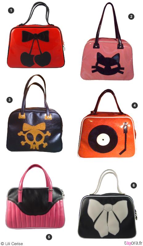 sacs main originaux lili cerise taaora blog mode tendances looks. Black Bedroom Furniture Sets. Home Design Ideas