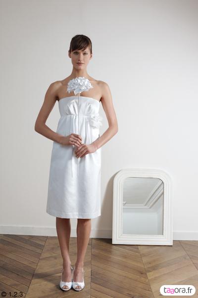 Collection mariage 1 2 3 taaora blog mode tendances for Robes de mariage de taille empire