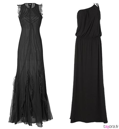 Robes longues noires
