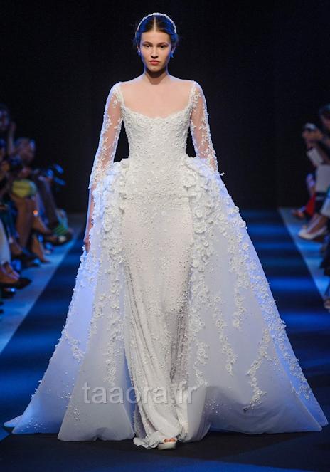 Une robe de mariée digne d'une princesse chez le couturier Georges ...