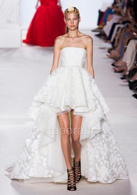Robes de mariée, défilé Haute Couture Hiver 2013-2014 – Taaora ...