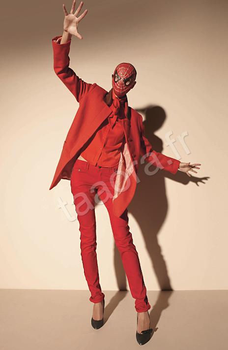 Rouge couleur Automne/Hiver 2011-2012