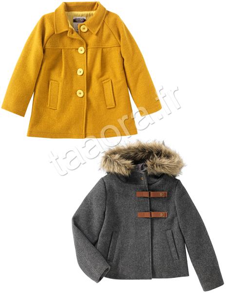 Manteau fille enfant