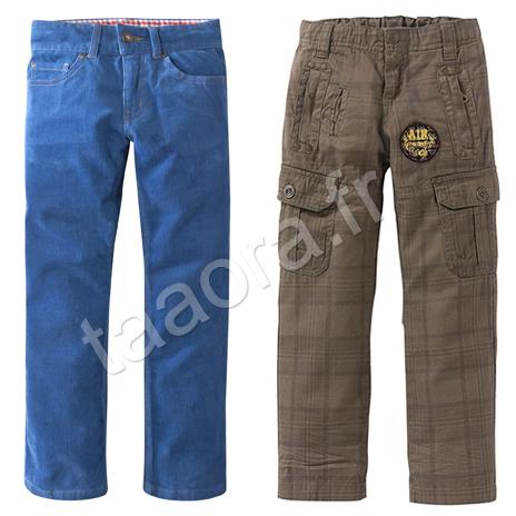 Pantalon garçon catalogue 3 Suisses