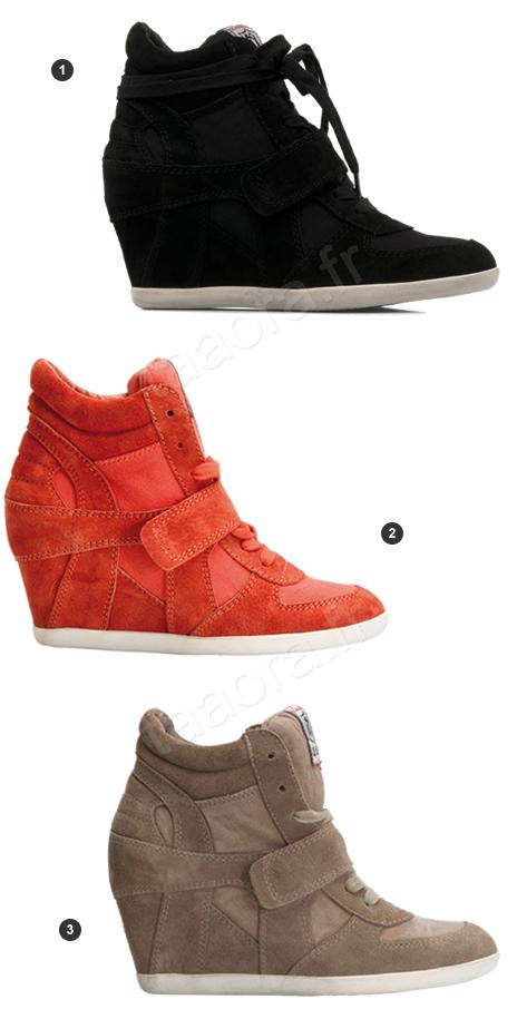 4c2a81ad03141c Baskets compensées Ash Printemps/Été 2012 – Taaora – Blog Mode ...