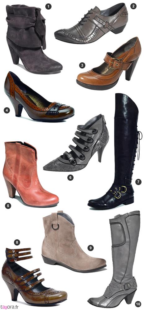 Chaussures Bocage AutomneHiver 2009 2010 </p>                     </div>   <!--bof Product URL --> <!--eof Product URL --> <!--bof Quantity Discounts table --> <!--eof Quantity Discounts table --> </div>                        </dd> <dt class=
