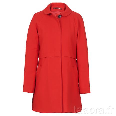 Comptoir des cotonniers automne hiver 2012 2013 taaora - Manteau rouge comptoir des cotonniers ...