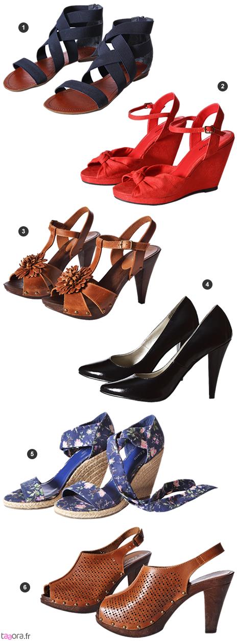 Noire Chaussures Etam Haute chaussure C T Y7gyv6bf