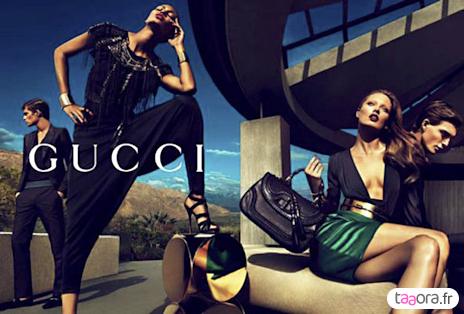 Pub Gucci Printemps/Été 2011