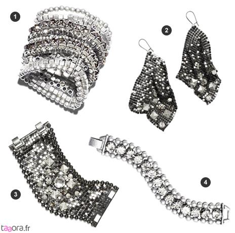 Bijoux strassés Jimmy Choo pour H&M
