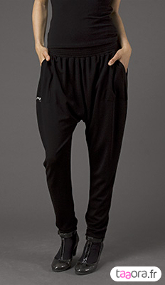 Caleçon sarouel sportswear chic
