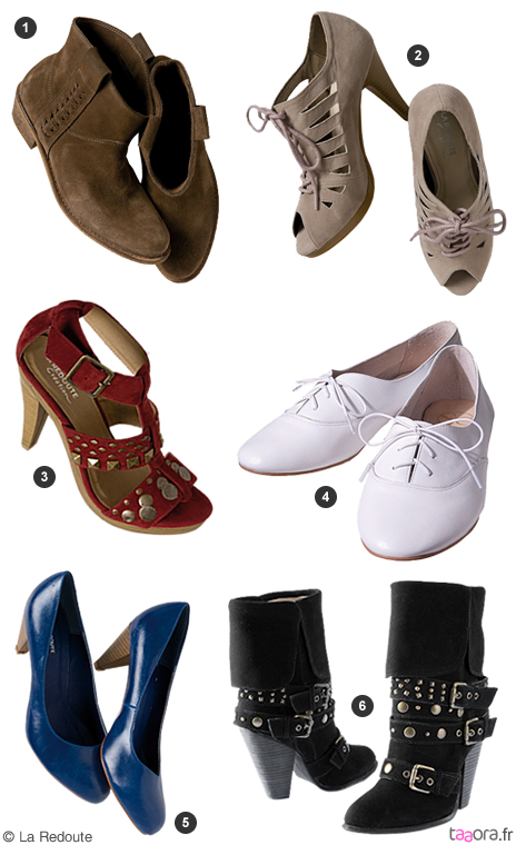 chaussures la redoute nouvelle collection