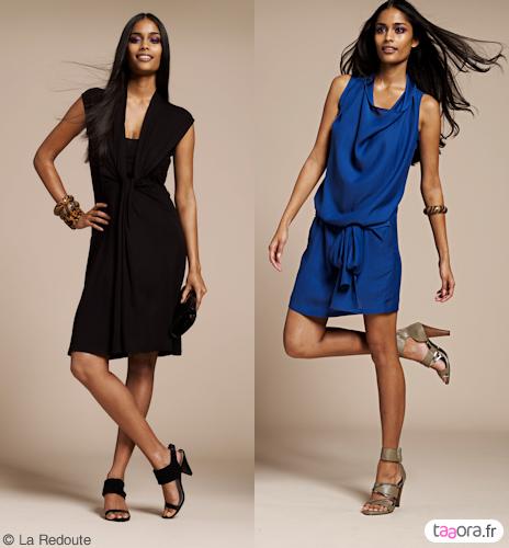 robe bleu marine quelles chaussures. Black Bedroom Furniture Sets. Home Design Ideas