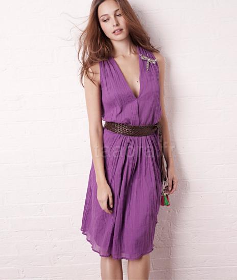 Robe violette la redoute