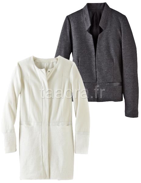 Manteau minimaliste