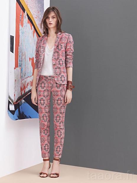 maje robe motif 2012 ete blog