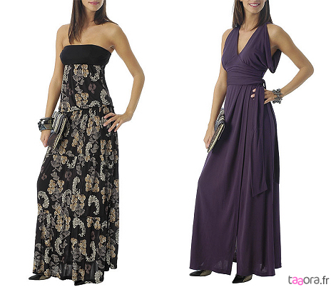 De longues robes de bal pour les photos 1