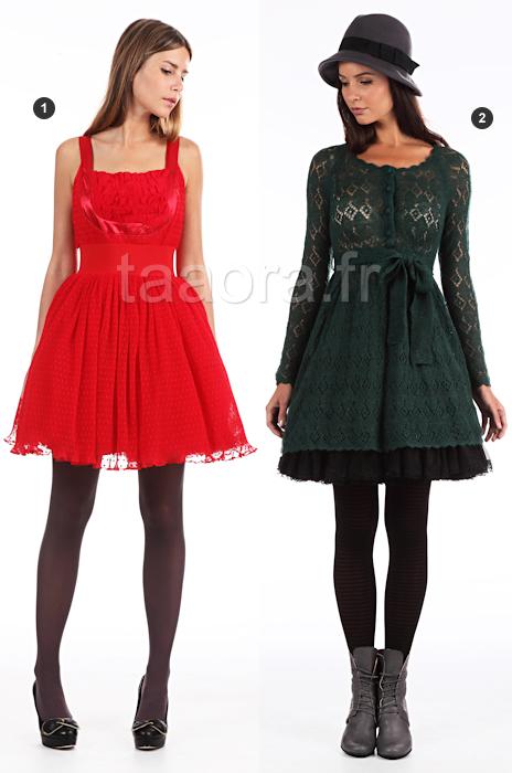 ca206e2f66b Pour choisir une robe  Robe rouge avec quoi la porter