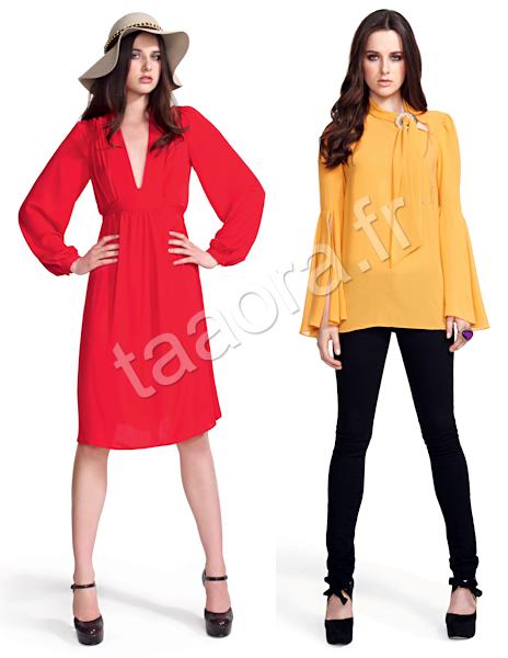 Mode couleurs vives Hiver 2011-2012