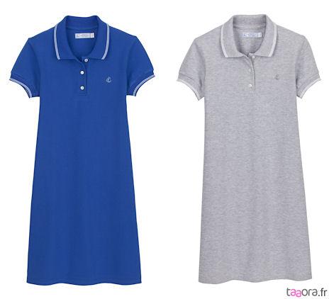 c0e2c43bc56a7 La robe polo Petit Bateau – Taaora – Blog Mode, Tendances, Looks