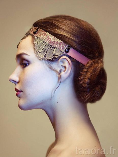 Headbands ann es 20 lorafolk pour tara jarmon taaora blog mode tendances looks - Headband annee 20 ...