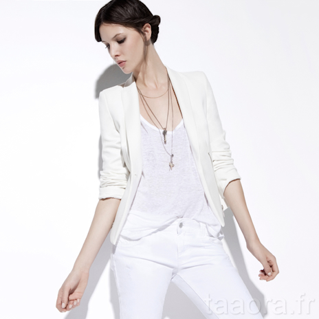 coupe classique valeur formidable Design moderne Vestes Zara TRF Printemps 2012 – Taaora – Blog Mode ...