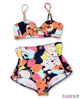 maillots de bain taille haute taaora blog mode tendances looks. Black Bedroom Furniture Sets. Home Design Ideas