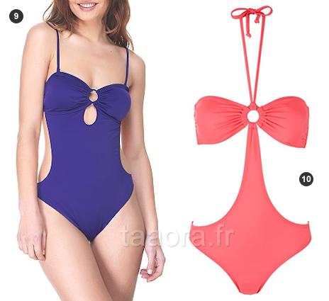 Maillot trikini pas cher