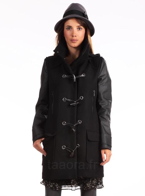 un duffle coat pour cet hiver taaora blog mode. Black Bedroom Furniture Sets. Home Design Ideas