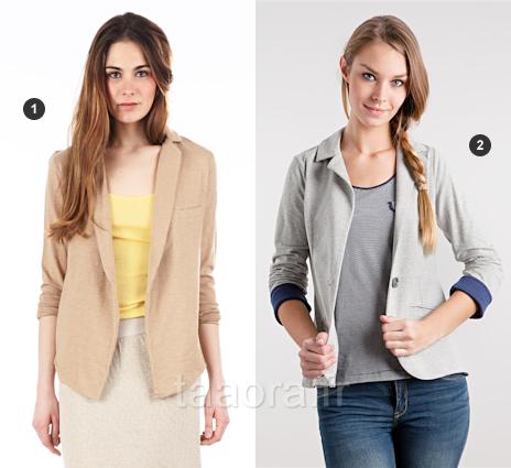 Veste tailleur coton femme