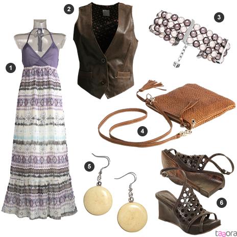Id E De Look Style Hippie Chic Taaora Blog Mode Tendances Looks